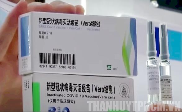 Bộ Y tế đồng ý TP.HCM sử dụng 1 triệu liều vắc xin Vero Cell