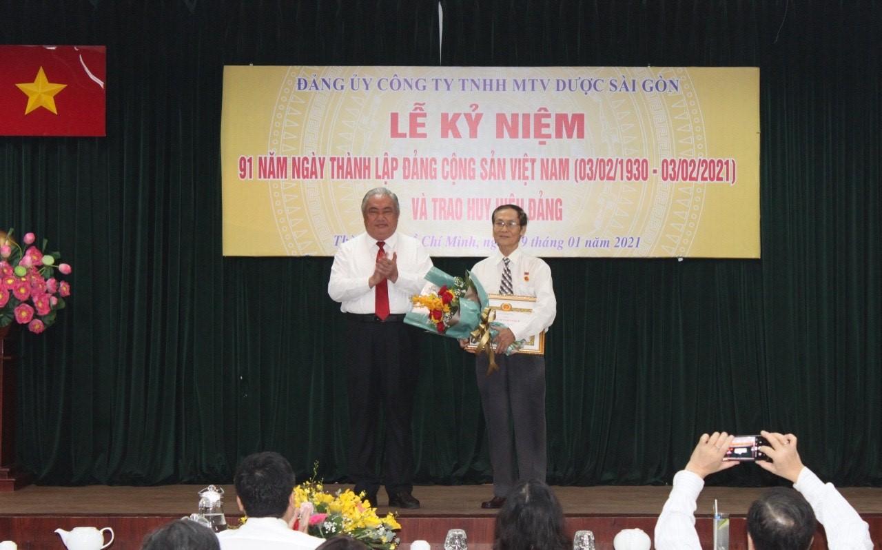 Lễ Kỷ niệm 91 năm Ngày thành lập Đảng Cộng sản Việt Nam (3/2/1930- 3/2/2021) và Trao huy hiệu Đảng
