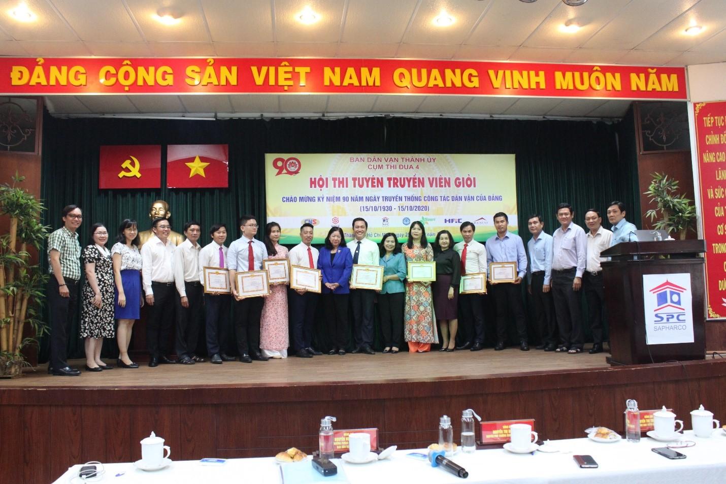 Hội thi tuyên truyền viên giỏi Cụm thi đua 4 – Ban Dân vận Thành ủy