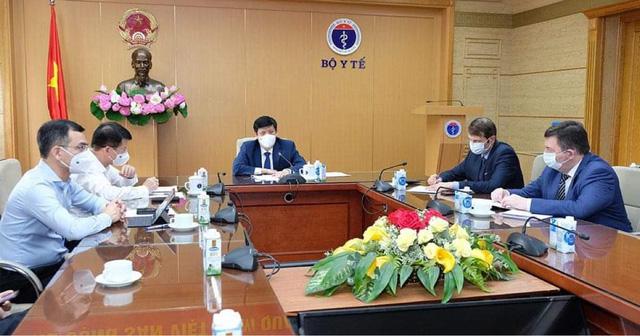 Việt Nam đàm phán mua 20 triệu liều vaccine Sputnik V của Nga trong năm 2021