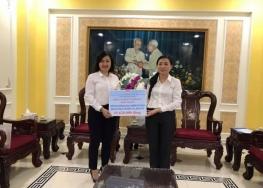 Công Ty TNHH MTV Dược Sài Gòn ủng hộ đồng bào miền Trung bị ảnh hưởng bão lũ.