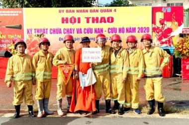Đội Phòng cháy chữa cháy Công ty TNHH MTV Dược Sài Gòn đạt giải nhì khối đơn vị cơ sở trong Hội thao kỹ thuật chữa cháy và cứu nạn – cứu hộ năm 2020.