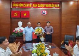 Trao Quyết định bổ nhiệm Phó Tổng Giám đốc Công ty TNHH MTV Dược Sài Gòn